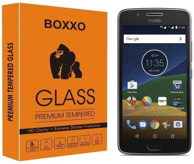 Boxxo Tempered Glass Guard for Motorola Moto G5(Pack of 1)