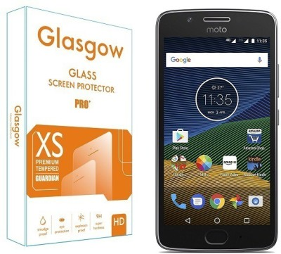 Glasgow Tempered Glass Guard for Motorola Moto G5(Pack of 1)