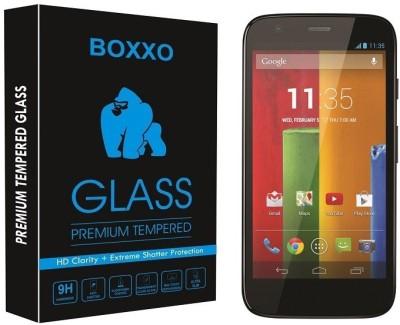 Boxxo Tempered Glass Guard for Motorola Moto G(Pack of 1)