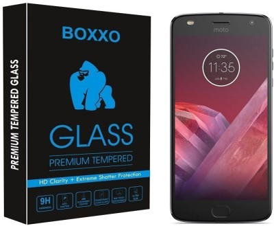Boxxo Tempered Glass Guard for Motorola Moto Z2 Play(Pack of 1)