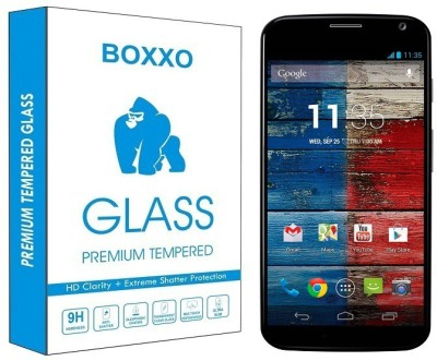 Boxxo Tempered Glass Guard for Motorola Moto X(Pack of 1)