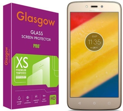 Glasgow Tempered Glass Guard for Motorola Moto C Plus Pack of 1 Glasgow Screen Guards