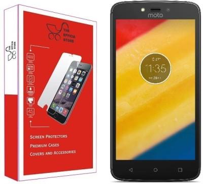 Efficia Tempered Glass Guard for Motorola Moto C Plus(Pack of 1)