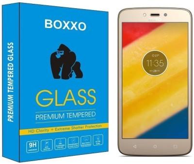 Boxxo Tempered Glass Guard for Motorola Moto C Plus(Pack of 1)