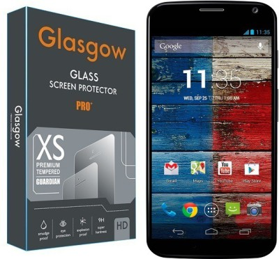 Glasgow Tempered Glass Guard for Motorola Moto X(Pack of 1)