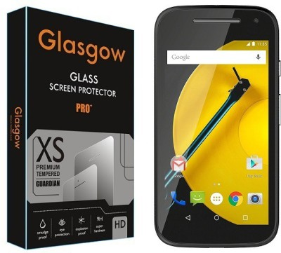 OBSTINATE Tempered Glass Guard for Motorola Moto E (2nd Gen) 4G