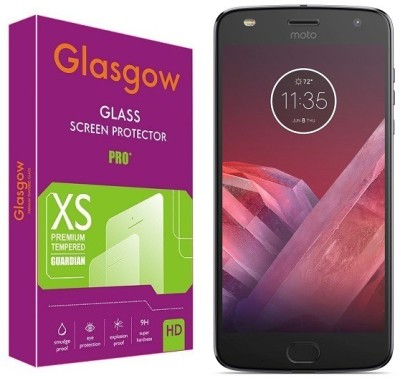 Glasgow Tempered Glass Guard for Motorola Moto Z2 Play Pack of 1 Glasgow Screen Guards