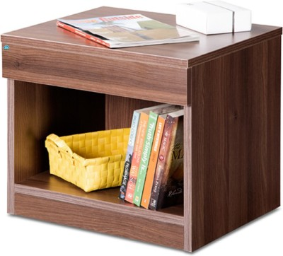 Delite Kom Bedside Table Acacia Dark Engineered Wood Bedside Table(Finish Color - Acicia Dark)