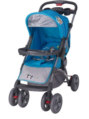 Toy House Premium Baby Stroller(3, Blue)