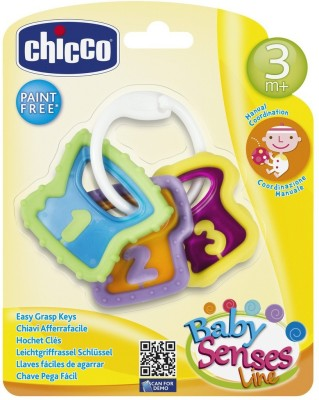 Chicco Chicco Easy Grasp Keys Teether(Multicolor)  available at flipkart for Rs.199