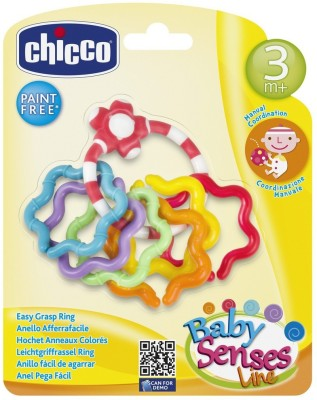 Chicco Chicco Easy Grasp Ring Teether(Multicolor)  available at flipkart for Rs.189