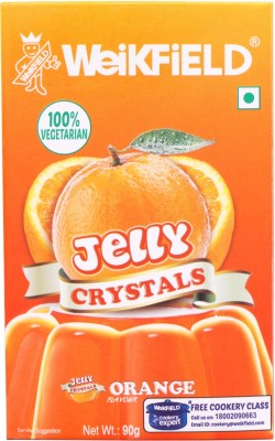Weikfield Jelly Orange flavor Citric Crystals(90 g)