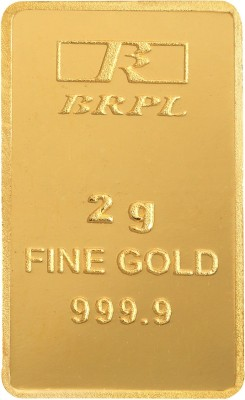 Bangalore Refinery 2 g Bar 24  9999  K 2 g Gold Bar
