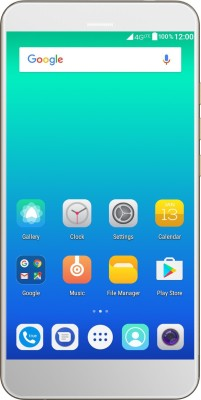 Yu Yunique 2 Plus (Champagne, 16 GB)(3 GB RAM) at flipkart