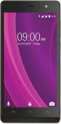 Lava A97 2GB Plus 4GB Black-Gold Mobile