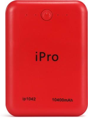 Ipro 10400 mAh Power Bank  Fast Charging, 10 W