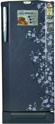 Godrej 210 L Direct Cool Single Door 3 Star Refrigerator(Indigo Floret, RD EDGEPRO 210 PDS 3.2)