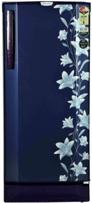 Godrej 210 L Direct Cool Single Door 3 Star Refrigerator with Base Drawer(Jasmine Blue, RD EDGEPRO 210 CT 3.2)