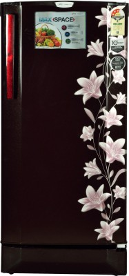 Godrej 190 L Direct Cool Single Door 3 Star Refrigerator(Jasmine Wine, RD EDGE PRO 190 CT 3.2)