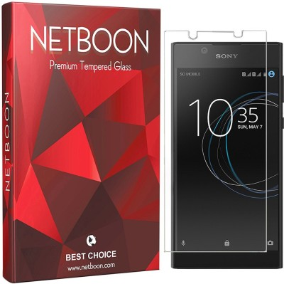 Netboon Tempered Glass Guard for Sony Xperia L1(Pack of 1)
