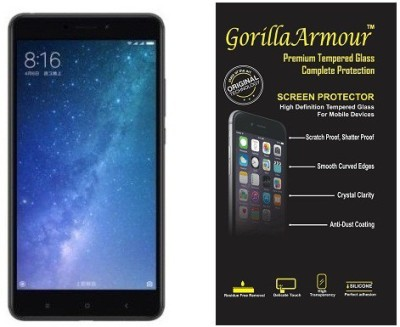 chikis Edge To Edge Tempered Glass for Hard Gorilla Armour 5D Curved Tempered Glass Screen Protector for Samsung Galaxy A6(Pack of 1)