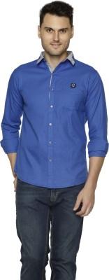 Club Martin Men's Solid Casual Spread Shirt