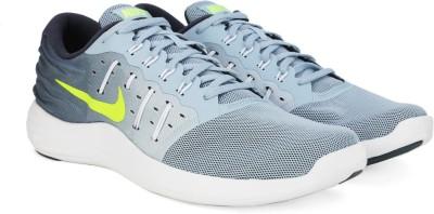 Nike LUNARSTELOS Running Shoes For Men(Blue) 1