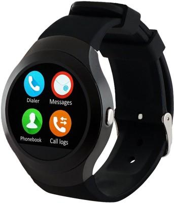 SYL ASUS Golden Smartwatch(Black Strap Free Size) at flipkart