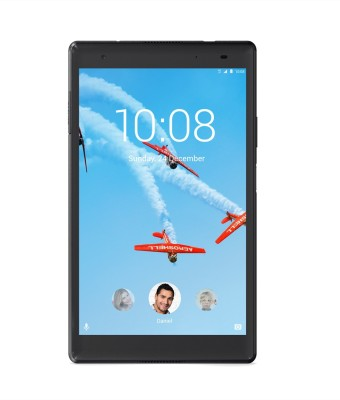 View Lenovo Tab 4 8 Plus 16 GB 8 inch with Wi-Fi+4G Tablet(Aurora Black) Tablet Note Price Online(Lenovo)