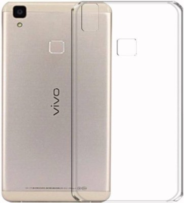 4UrFone Back Cover for VIVO V3 Transparent