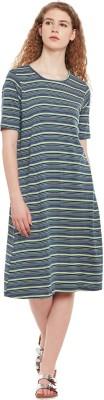 Belle Fille Women Maxi Multicolor Dress