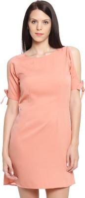 Pink Lace Women Shift Pink Dress