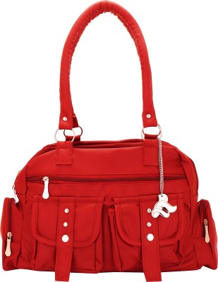 Lady bar Hand-held Bag(Red)