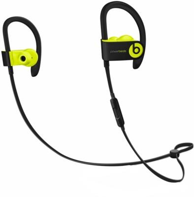 Beats Powerbeats3 (MNN02ZM/A) Bluetooth Headset(Shock Yellow, In the Ear)