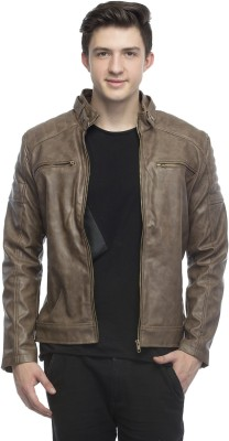 CP Club Collection Full Sleeve Solid Men Jacket at flipkart