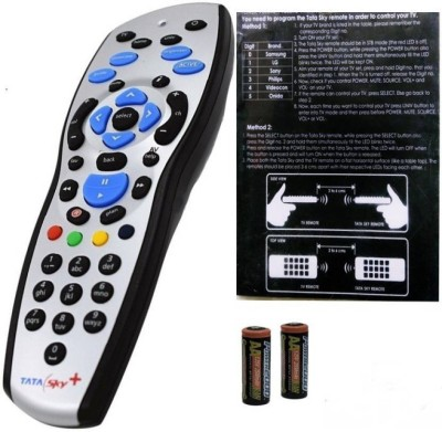 Tata Sky Tata Sky universal Original Universal Remote Controller(Black)