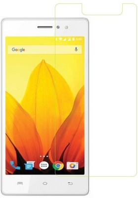 Mobile Crazy Tempered Glass Guard for Lava A88(Pack of 1)