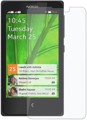 Shoppers Pride Tempered Glass Guard for Nokia X(Pack of 1)