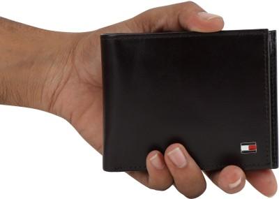 TOMMY HILFIGER Men Brown Genuine Leather Wallet 4 Card Slots TOMMY HILFIGER Wallets