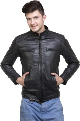 Emblazon Full Sleeve Solid Men Jacket at flipkart
