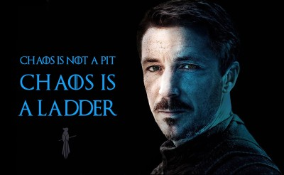 Chaos Is A ladder - Petyr Baelish - Game Of Thrones Collection - Premium Quality Poster Paper Print(12 inch X 17 inch)  available at flipkart for Rs.193