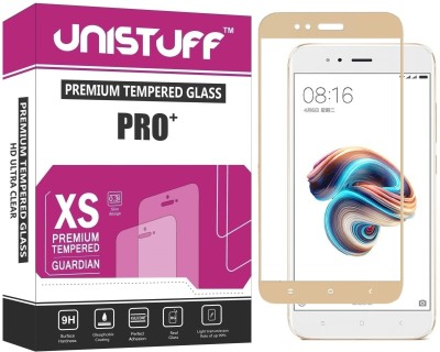 Unistuff Tempered Glass Guard for Mi A1(Pack of 1)