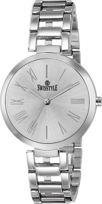 Swisstyle SS-LR637-WHT-CH  Analog Watch For Women