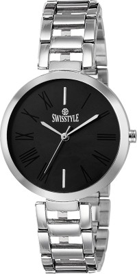 Swisstyle SS-LR637-BLK-CH  Analog Watch For Women