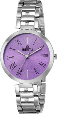 Swisstyle SS-LR637-PRP-CH  Analog Watch For Women