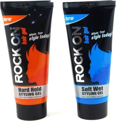 ROCK ON HAIRGELCOMBO Gel(120 g)