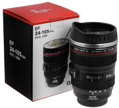 Shopat7 Camera Lens Dslr Plastic Mug(1000 ml) at flipkart