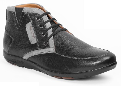 d7494125cf7 60% OFF on Red Chief Boots For Men(Black) on Flipkart | PaisaWapas.com