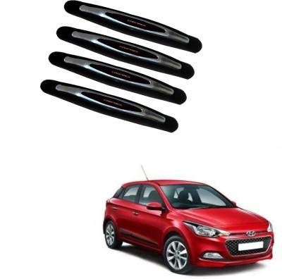 AdroitZ Plastic Car Door Guard(Black, Pack of 4, Hyundai, i20)  available at flipkart for Rs.368