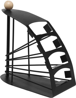 NK-STORE 4 Compartments Metal Remote Stand(Black)  available at flipkart for Rs.411